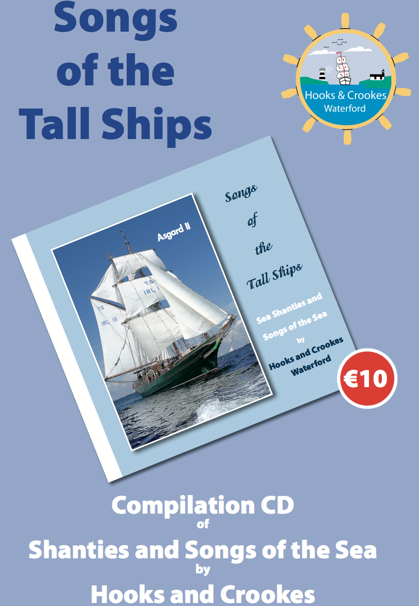 Tall Ships CD Poster